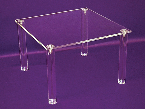 Acrylic Risers Nesting Risers Clear Square Risers