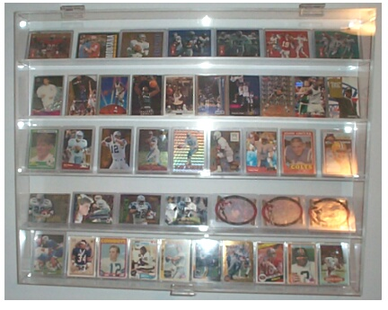 sports card display case