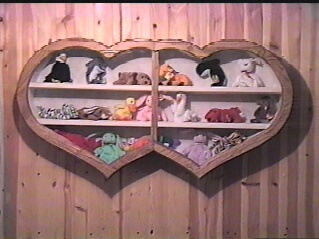 beanie baby shadow boxes