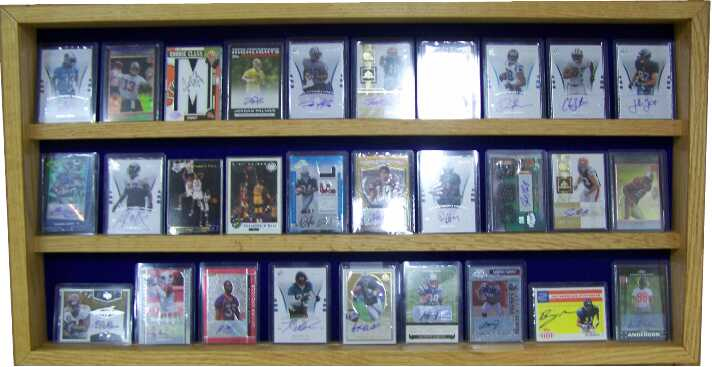 sports card display