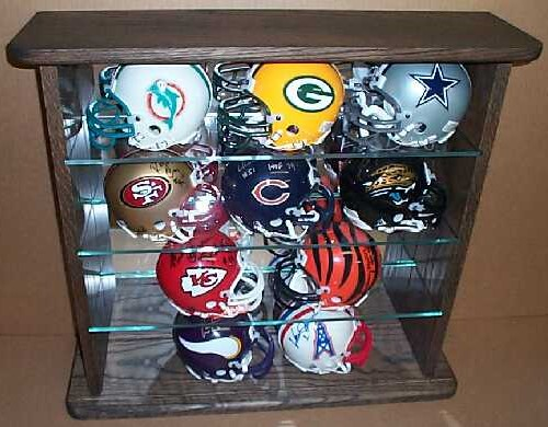 mini helmet displays